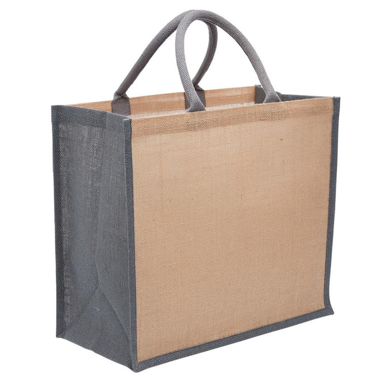 Picture of Eco Jute Tote with Wide Gusset