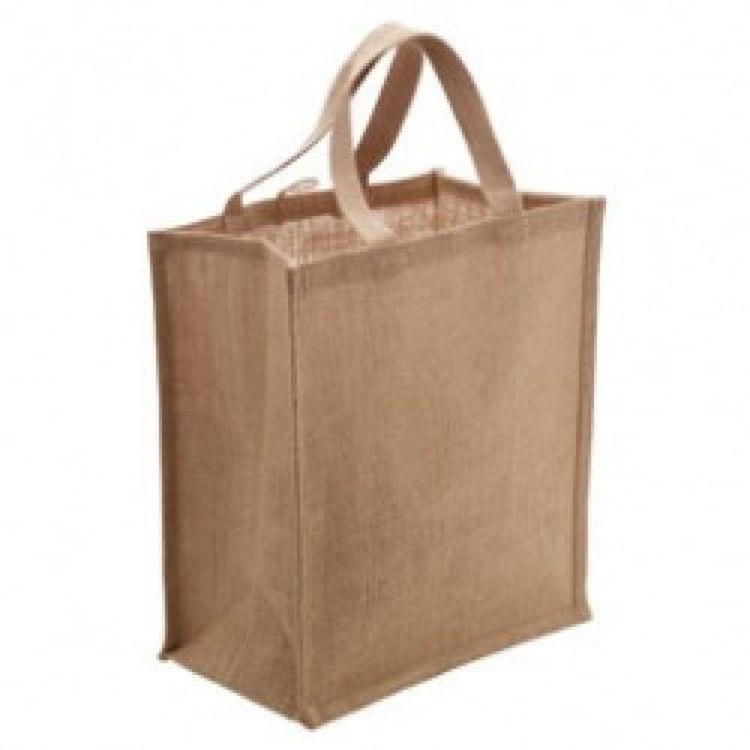 Picture of Jute Australian Supermarket Bag