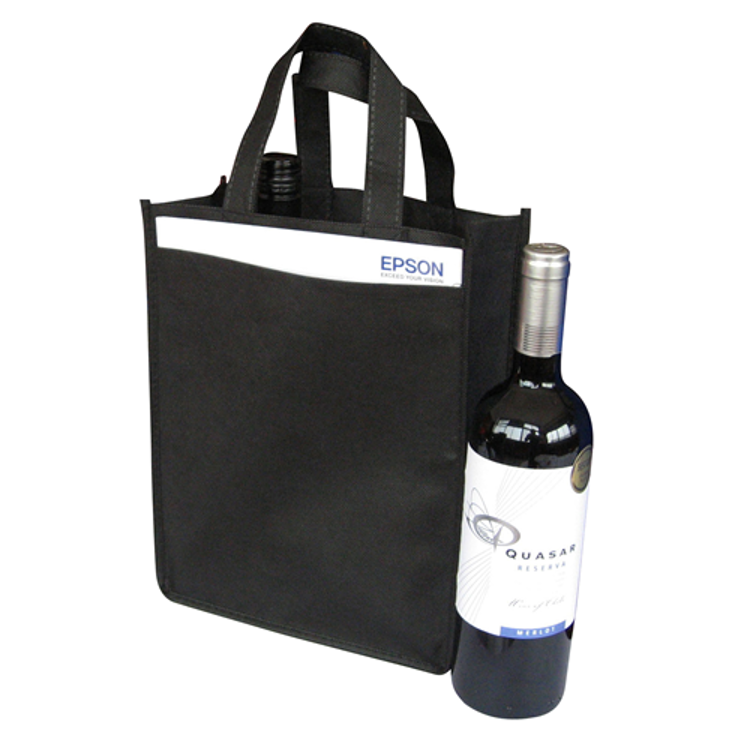 Picture of NON WOVEN 2 BOTTLE BAG