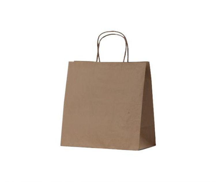 Picture of BetaEco Kraft Twist Handle Carry Bag (280x280x150)